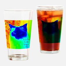 DollyCat Neon Verse - Ragdoll Cat - Drinking Glass
