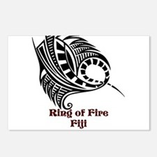 Ring of Fire Manta Ray Postcards (Package of 8)