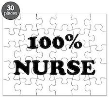 100% Nurse Puzzle