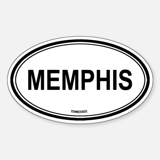 Memphis (Tennessee) Oval Decal