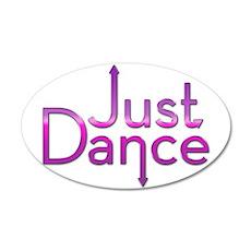 Just Dance 22x14 Oval Wall Peel