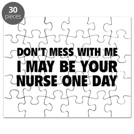 Don't Mess With Me Puzzle