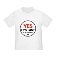 Yes It's Fast T