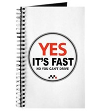 Yes It's Fast Journal