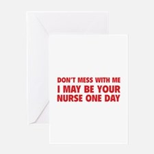 Don't Mess With Me Greeting Card