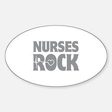 Nurses Rock Decal