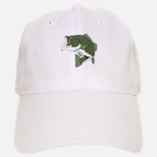 Largemouth Bass Baseball Baseball Cap