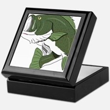 Largemouth Bass Keepsake Box