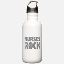 Nurses Rock Water Bottle