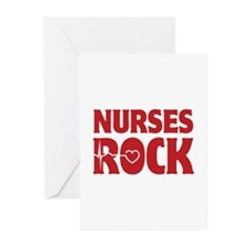 Nurses Rock Greeting Cards (Pk of 10)