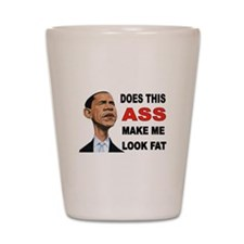 FAT BARACK Shot Glass