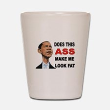 FAT BARACK Shot Glass