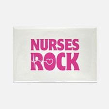 Nurses Rock Rectangle Magnet (10 pack)
