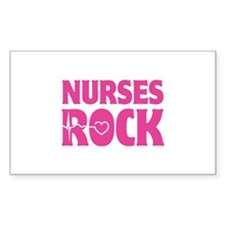 Nurses Rock Decal