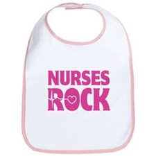 Nurses Rock Bib