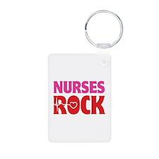 Nurses Rock Keychains