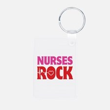 Nurses Rock Keychains
