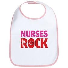 Nurses Rock Bib