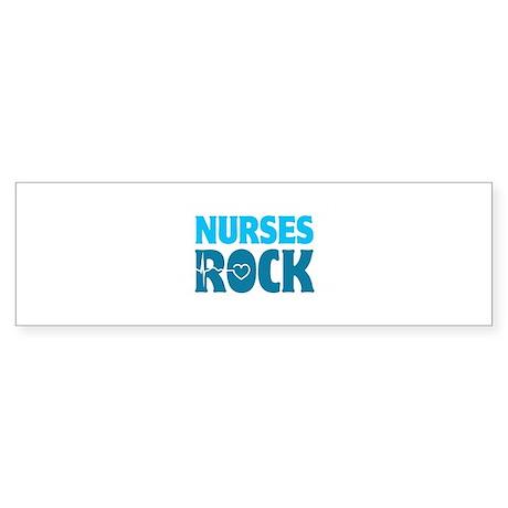 Nurses Rock Sticker (Bumper)