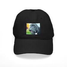 Black Labradoodle 5 Baseball Hat