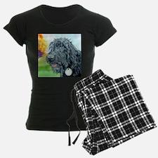 Black Labradoodle 5 pajamas