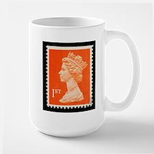 UK First Class Stamp Mug
