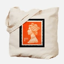 UK First Class Stamp Tote Bag