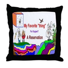 2013 Reservation Throw Pillow