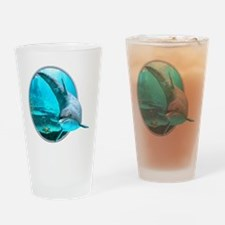 Dolphin Drinking Glass