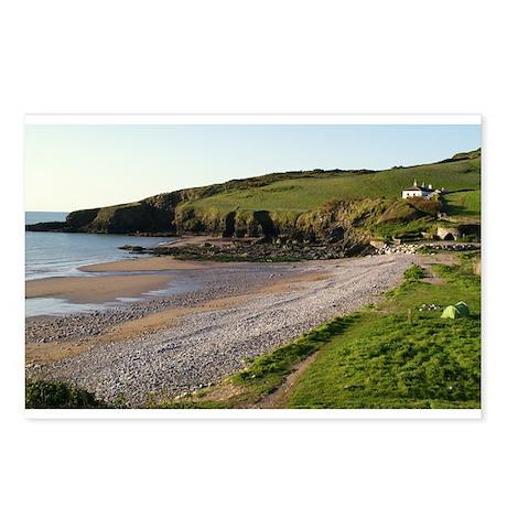 Man Sands Brixham Devon Postcards (Package of 8)