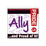 ALLY Square Sticker 3