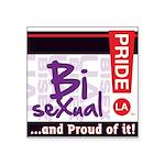 BISEXUAL Square Sticker 3