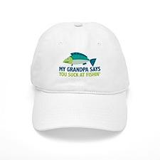 My Grandpa Says Baseball Cap