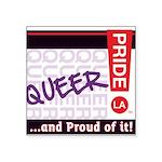 QUEER Square Sticker 3