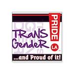 TRANSGENDER Square Sticker 3