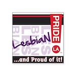 LESBIAN Square Sticker 3