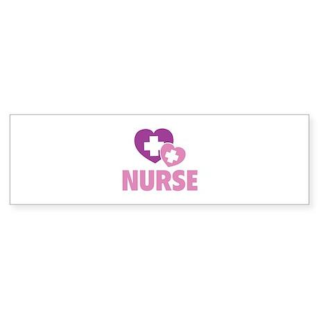 Nurse Sticker (Bumper)