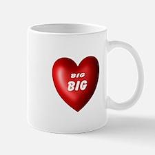 Big heart Mug