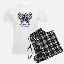 Butterfly Male Breast Cancer Pajamas