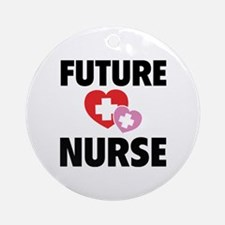 Future Nurse Ornament (Round)
