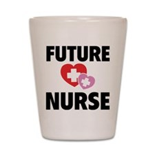Future Nurse Shot Glass