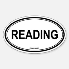 Reading (Pennsylvania) Oval Decal