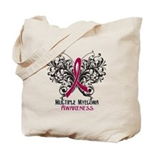 Butterfly Multiple Myeloma Tote Bag