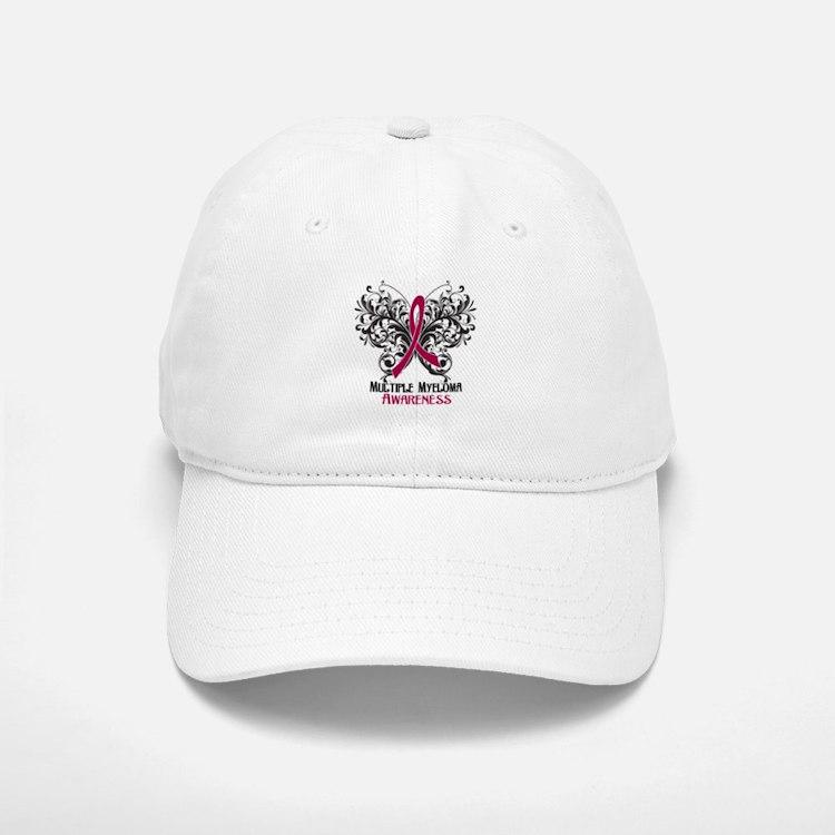 Butterfly Multiple Myeloma Baseball Baseball Cap