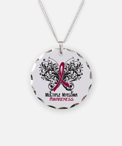 Butterfly Multiple Myeloma Necklace