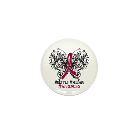 Butterfly Multiple Myeloma Mini Button (10 pack)
