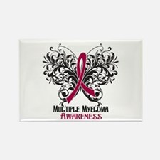 Butterfly Multiple Myeloma Rectangle Magnet