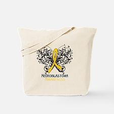 Butterfly Neuroblastoma Tote Bag