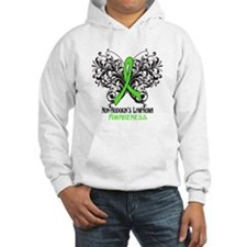 Butterfly Non-Hodgkins Hoodie
