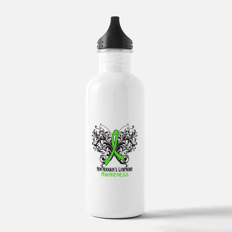 Butterfly Non-Hodgkins Water Bottle